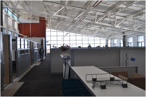 work areas inside the RSF NREL